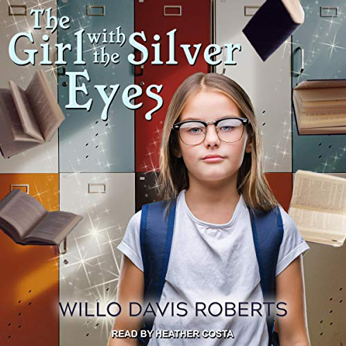 The Girl with the Silver Eyes audiobook cover art