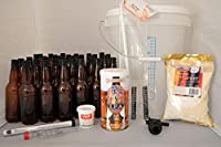 Kit de démarrage complet – tout ce dont vous avez besoin. Pour 23 litres. Brewmaker Ipa Un bon goût amer en aussi peu que 21 jours. Guide étape par étape facile à suivre (français non garanti).
