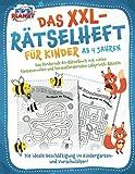 Das XXL-Rätselheft für Kinder ab 4 Jahren: Das fördernde A4-Rätselbuch...