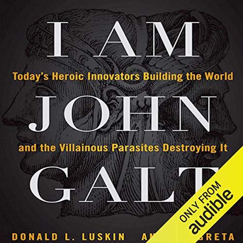 I Am John Galt audiobook cover art