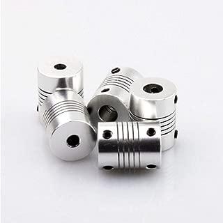Flexible Roller Chain Shaft Coupling CNC Stepper Motor Coupler Connector 8mm