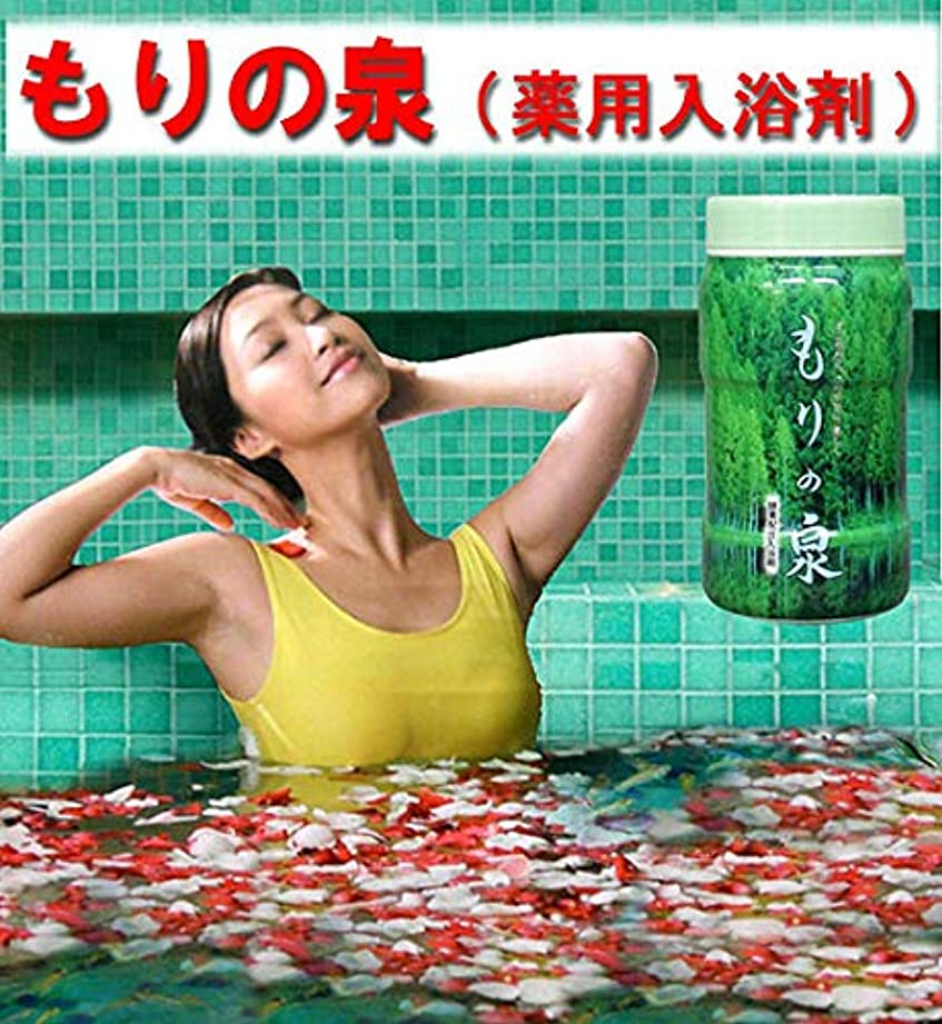 偽造すずめ面酵素入り入浴剤 もりの泉 徳用セット 12本