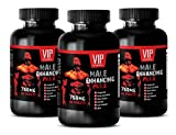 Pills for Men for Sex - Male Enhancing Pills 760MG - Horny Goat Weed Complex - 3 Bottle (180 Tablets)