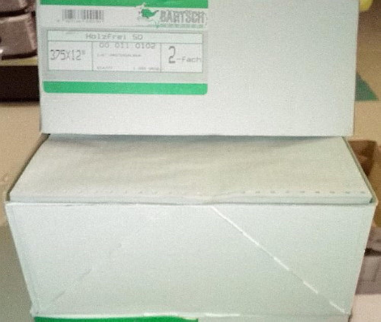Bartsch Endlospapier 12 x 240 1fach 1fach 1fach H-frei LP auf A5 perforiert, Weiß, 4000 Bl. B00JLKPT0Q | Schöne Kunst  c4708a