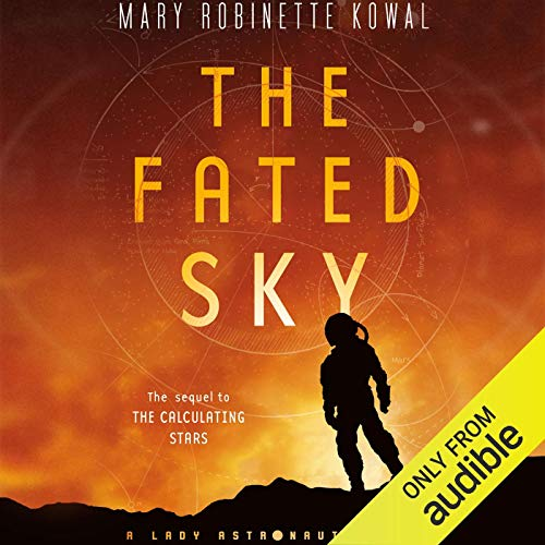 The Fated Sky audiobook cover art