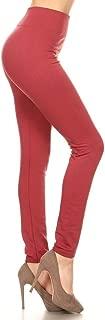 Ultra Soft Basic Yoga Solid Leggings-