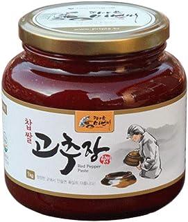 Korean Fermented Red Chili Pepper Paste No Preservative K-foods Mukbang Piagol [??? ???]