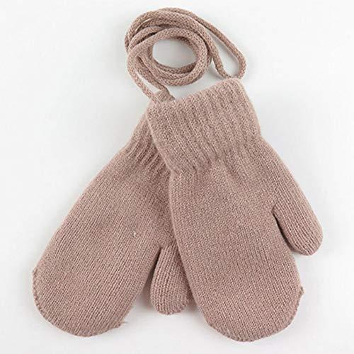 QWERGLL Ankunft Winter Baby Jungen Mädchen Strickhandschuhe Warme Seil Vollfingerhandschuhe Handschuhe Für Kinder Kleinkind Kinder