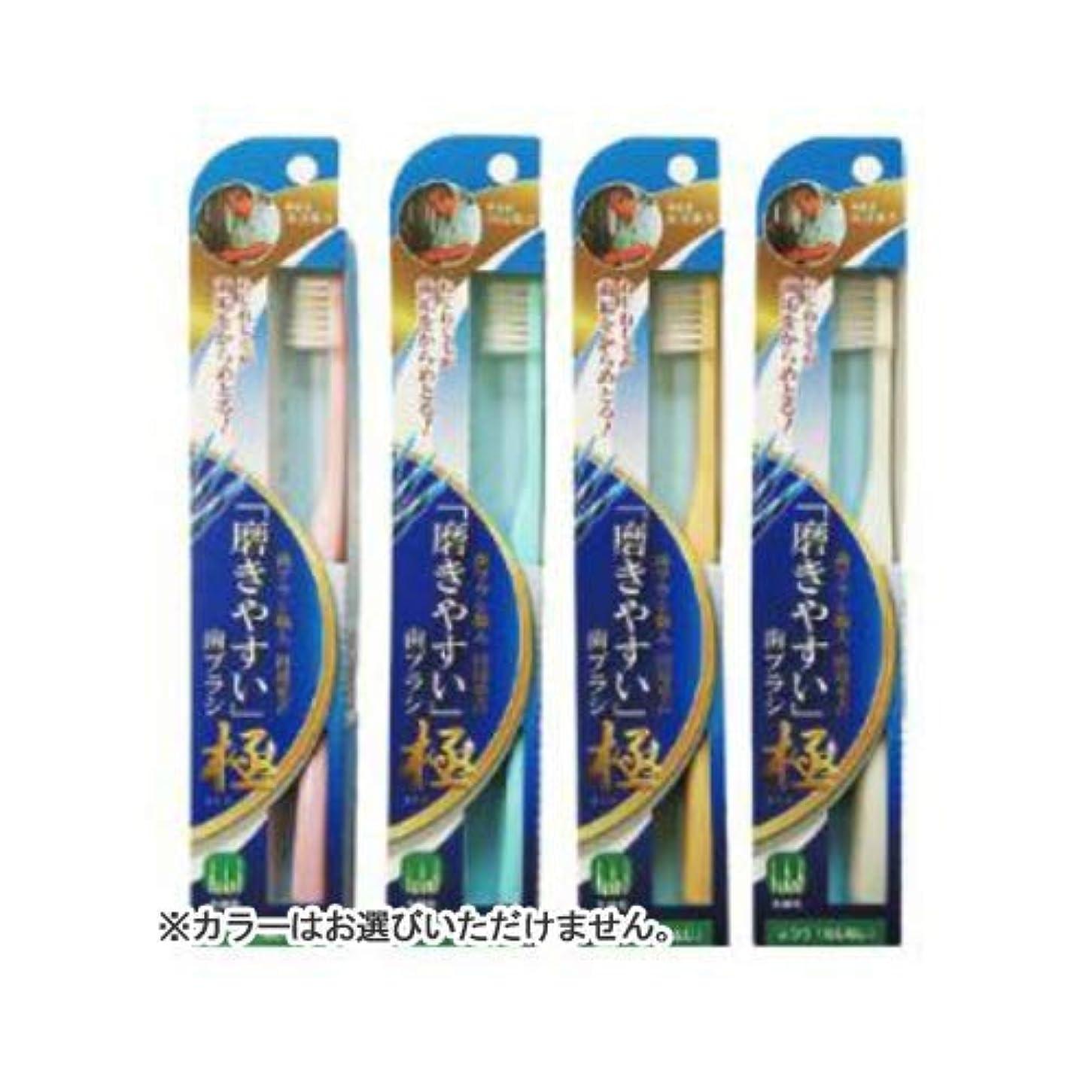 安全不調和自然公園LT-45磨きやすい歯ブラシ極 ねじねじ × 480個セット