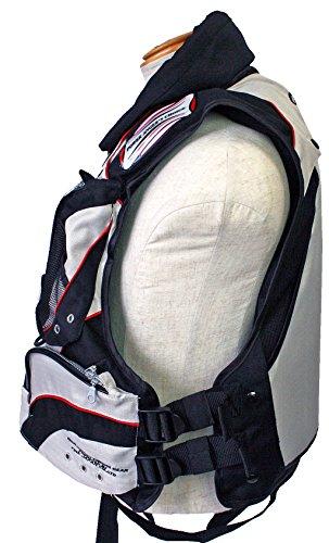 ファインジャパン(FINEJAPAN)セーフティフローティングベスト枕付FV-6009ホワイトxブラック