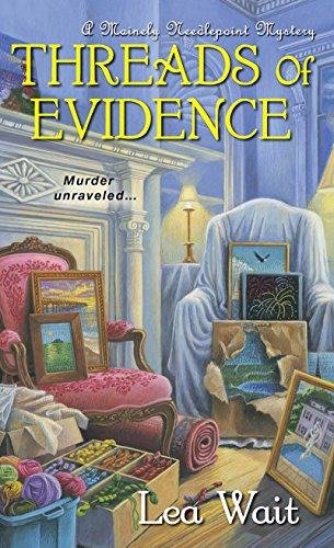 Threads of Evidence (A Mainely Needlepoint Mystery)