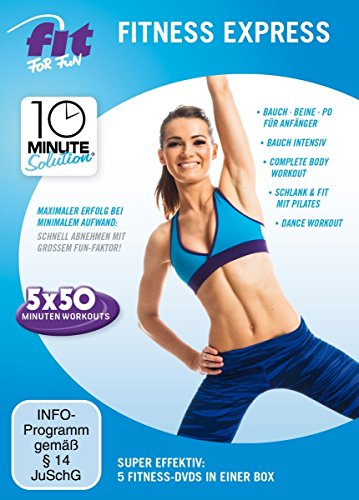 Fit for Fun - 10 Minute Solution: Fitness Express [5 DVDs]