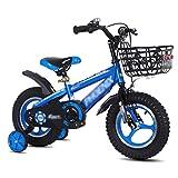 ZMDZA Bicicletas for niños, 14' 16' Kid Bicicletas, extraíble Ruedas de Entrenamiento, Bicicletas Bicicletas Boy Child City Mountain Bike Boy Ciudad Buggy (Color : B, Size : 16 Inches)
