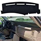 SPEEDWOW Dashboard Dash Board Cover Mat Carpet Compatible with 1999-2006...