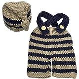 Jastore Newborn Infant Baby Boy Photography Prop Costume Cute Cap Pants (Style...