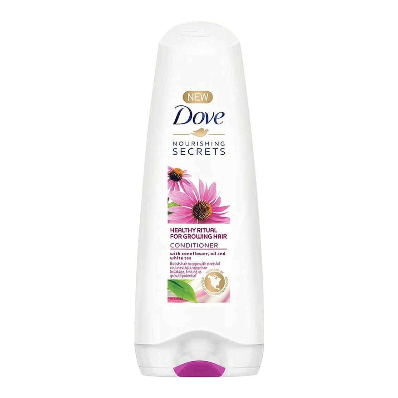人類ピックウガンダDove Healthy Ritual for Growing Hair Conditioner, 180 ml (Coneflower, Oil and White Tea)