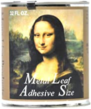 Speedball Mona Lisa Metal Leaf Adhesive For Gold, Silver Leafing – Water-Based, Made in USA – 32 Ounces (10217)