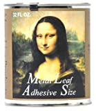 Speedball Mona Lisa Metal Leaf Adhesive For Gold, Silver Leafing – Water-Based, Made in ...