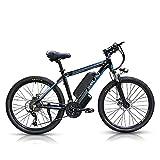Bici Elettrica 1000W, 26-Zoll e-MTB con Batteria Rimovibile 48V 13Ah, Shimano Cambio a 21 ...