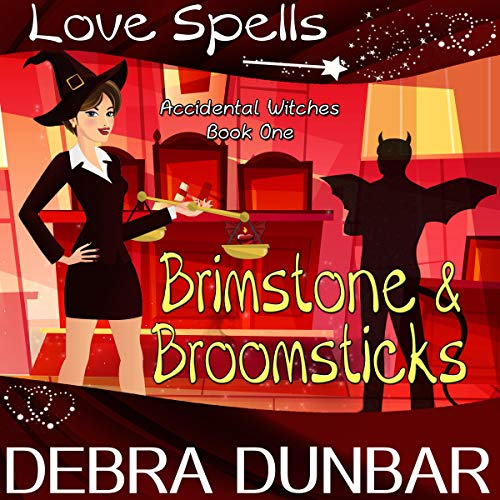 Brimstone and Broomsticks audiobook cover art
