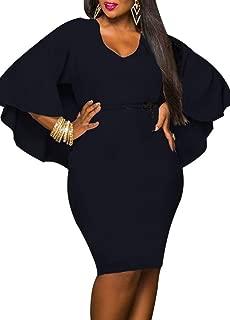 Romacci Sexy Women Bandage Peplum Waist Bodycon Dress Lace Splice O Neck Long Sleeve Evening Party Mini Dress Night Clubwear