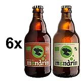 Mandrin blonde bio 6 bouteilles 4,8% alc. /vol.