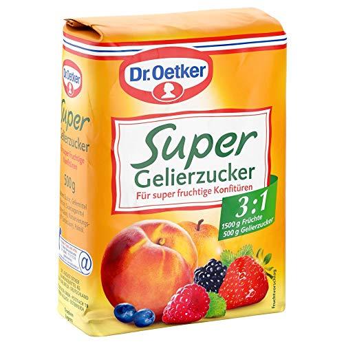 Dr. Oetker Gelierzucker Super 3,1, 7er Pack (7 x 500 g)