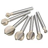 TuToy Utensile per intaglio con fresa a sfera in acciaio da 6-20 mm con utensile da 6-20 m...