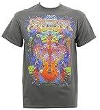 Santana Men's Spiritual Soul T-Shirt Graphite L