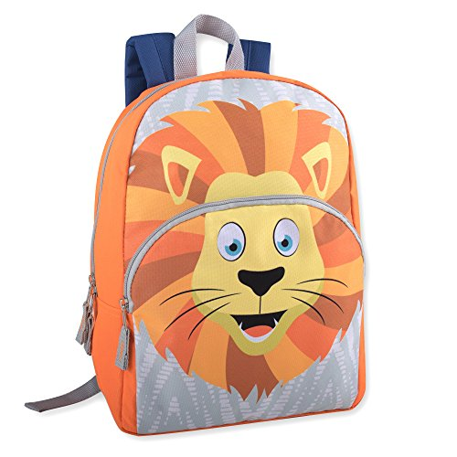Animal Friends Critter Backpacks With Reinforced Straps (LION)
