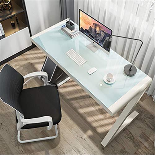 Mostrador de Juegos de PC Escritorio de escritorio de escritorio de escritorio de escritorio de escritorio de cristal templado simple dormitorio de escritorio de escritorio simple mesa de juego mesa D
