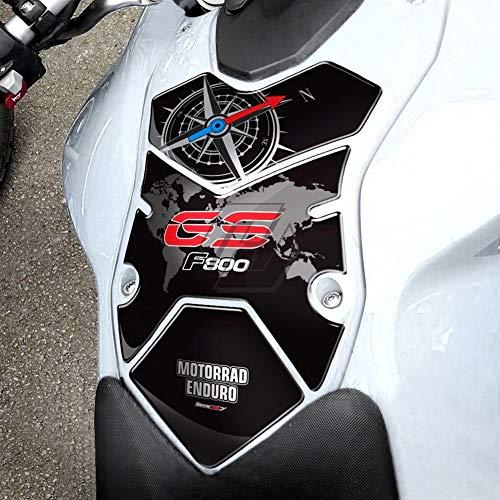 3D-Motorrad-Kraftstoff-Gas-Behälter-Auflage-Schutz-Fall for BMW F800GS F800 GS 2008-2012 Polyurethanharz