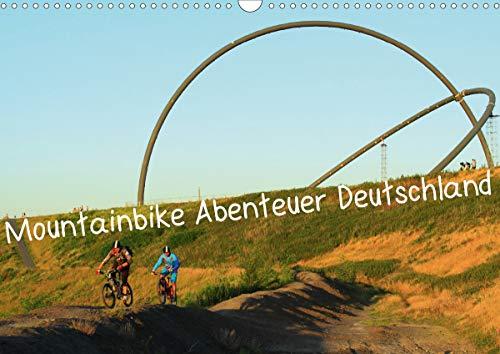 Mountainbike Abenteuer Deutschland (Wandkalender 2021 DIN A3 quer)