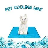 Seekavan Hund Kühlmatte, Selbst Kühlung Gel-Matte Pads Pet für Hunde & Katzen, Haustier Betten Sommer Matte für Haustier
