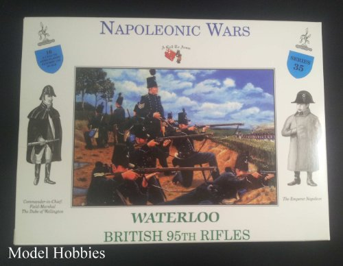 A Call To Arms 1/32 Napoleonic Wars Waterloo British 95th Rifles # 35