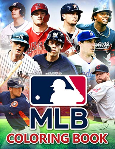 MLB Coloring Book: The Book For Those Interested In NFL: National Football The Book For Those Interested In MLB: Major League Baseball To Increase ... TimeTo Increase Relaxation During Free Time