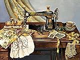 YKHAHA Peinture à l'huile de Bricolage Machine à Coudre Cadeau de Peinture par...