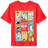 Pixar Little Boys Toy Story 4 Group Box T-Shirt, Red