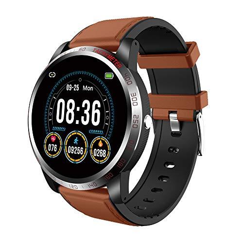 NiceFuse Smartwatch Orologio Fitness Tracker con Monitoraggio Dell ossigeno Nel Sangue Spo2, Impermeabile Cardiofrequenzimetro da Polso Sonno Contapassi Pedometro per Android iOS