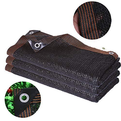 ZJDU Tela De Sombra 50% -60% - Resistente A Los Rayos UV,Protector Solar De Sombra Suculenta,Plantas De Protección Mascotas Pantalla De Sombra Exterior con Ojales,5 × 5m
