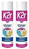 Smacchiatore K2r pre-lavaggio spray, 400 ml, confezione da 2