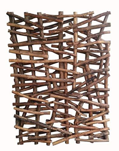 Faunos Treibholz Wanddeko 110 cm hoch Unikat Handarbeit Deko Wohnzimmer Flur Schlafzimmer