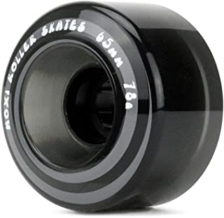 Moxi Skates - Original Classic - Outdoor Roller Skate Wheels - 4 Pack of 40mm x 65mm 78A Wheels