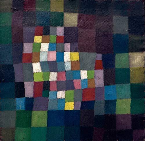 Kunstdruck/Poster: Paul Klee Abstract mit Bezug auf einen blühenden Baum - hochwertiger Druck,...