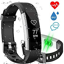 Aneken Fitness Tracker Watch Activity Tracker with Heart Rate