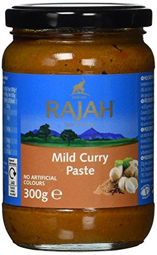Rajah Currypaste, mild, 3er Pack (1 x 300 g)