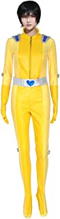 miccostumes Women's Alex Cosplay Costume Outfit with Belt Yellow