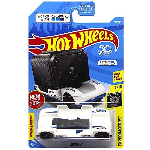Hot Wheels 2018 Experimotors Zoom In 341/365, White