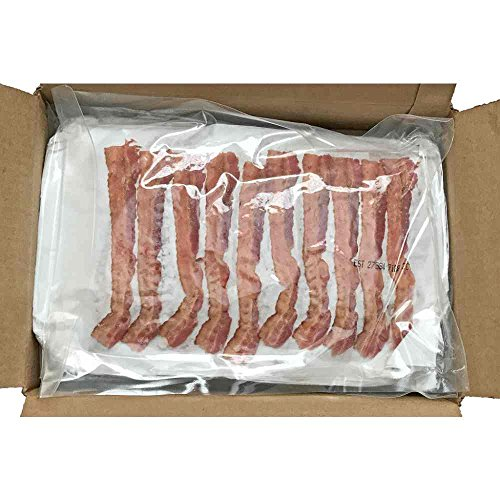 Patrick Cudahy Golden Crisp Fully Cooked Packaged Bacon Strips, 1.8 Pound -- 2 per case.