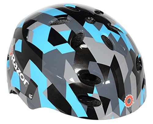 Product Image of the Razor V-17 Youth Multi-Sport Helmet, Geo Helmet